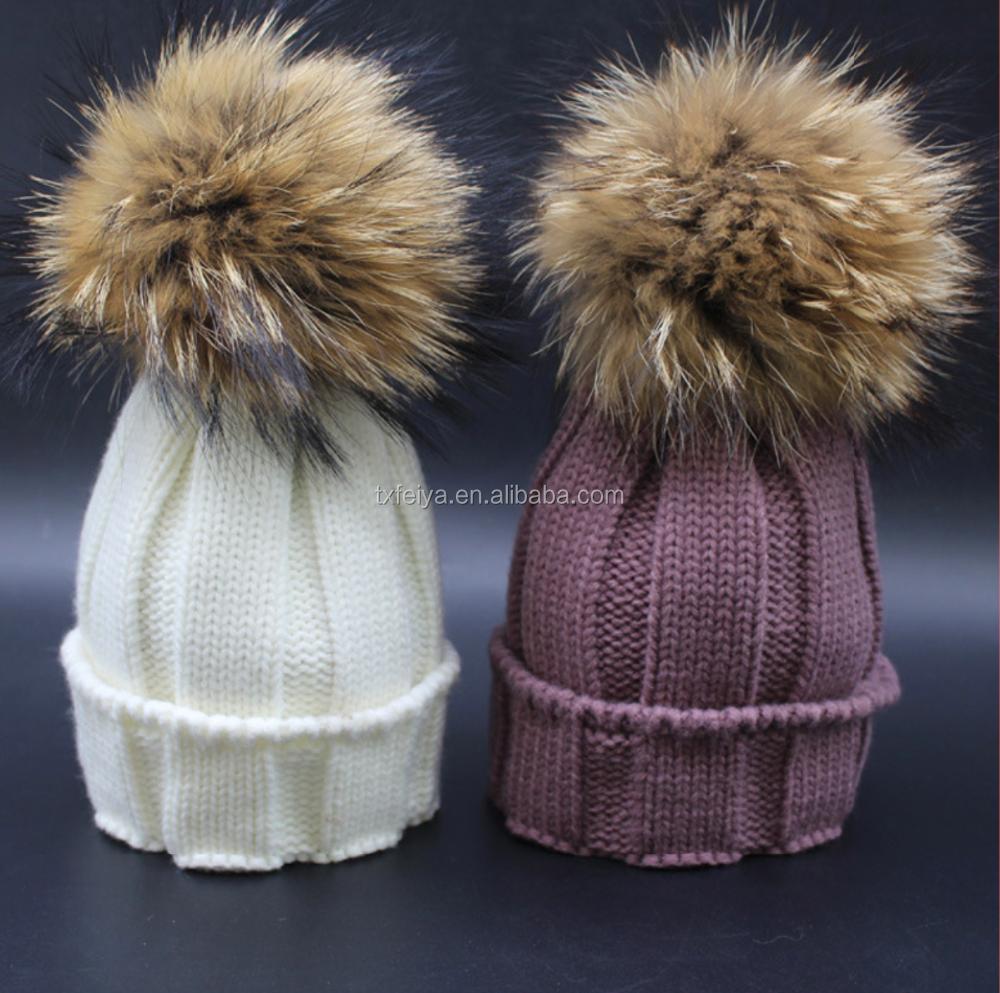 Men's Earmuffs Oversized Real Big Raccoon Fur Earmuffs Lovely Personality Plush Fur Ear Cover Warm Girls Earflap Winter Profit Small