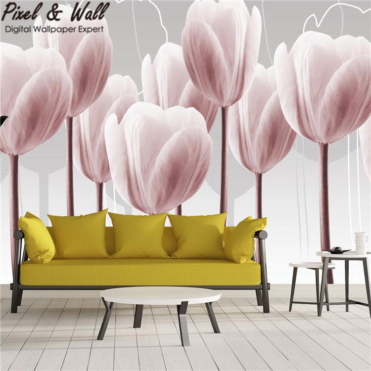 Carta decorativa per pareti con fiori all 39 ingrosso for Carta decorativa per pareti