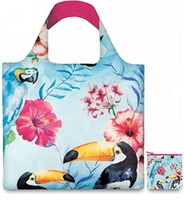 Beach Large Folding Small Pouch Travel Reusable Waterproof Nylon Polyester Foldable Tote Shopping Bag
