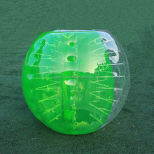 Crazy sport games inflatable bumper ball inflatable body bumper ball for adult and kids