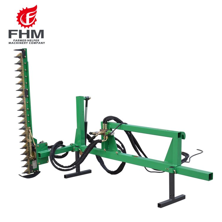 Fhm Front Loader & Skidder Mounted Land-clearing Hedge Cutter - Buy Tractor  Mounted Hedge Cutter,Front End Loader,Skidder Mounted Land-clearing Hedge