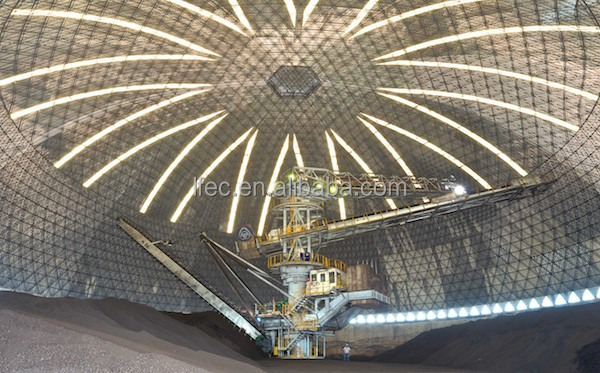 Steel Construction Project For industrial domes