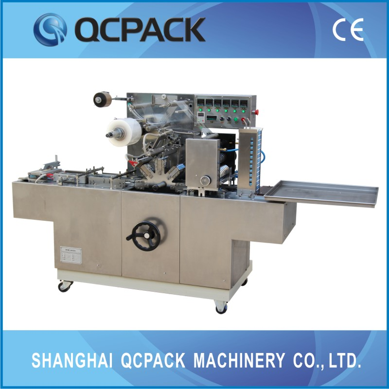 auto film fold plastic wrap machine for food