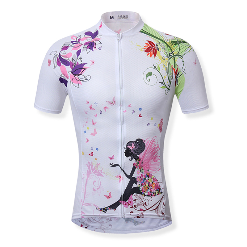 0882cfeee Get Quotations · Women s Cycling Jerseys Cycling clothing bicycle jersey  Team bike bicycle Cycling jersey short sleeve Cycling wear