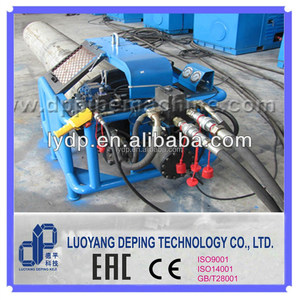 DPFM1224 tube end facing machine for pipe chamfering and welding