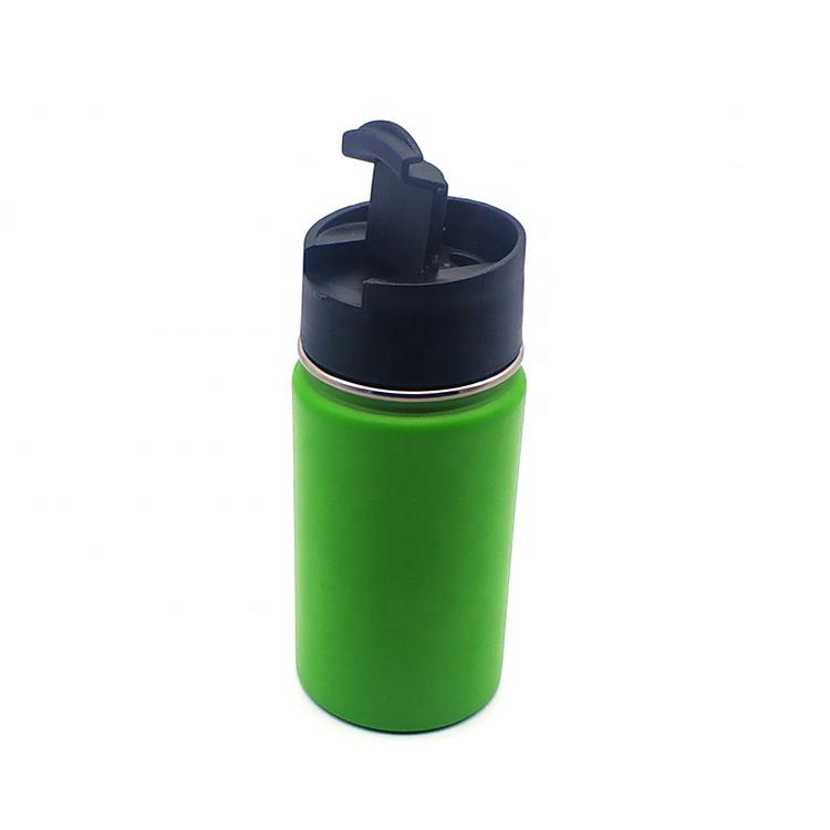 Custom Laser Engraving Logo 304 Green Stainless Steel Water Bottle