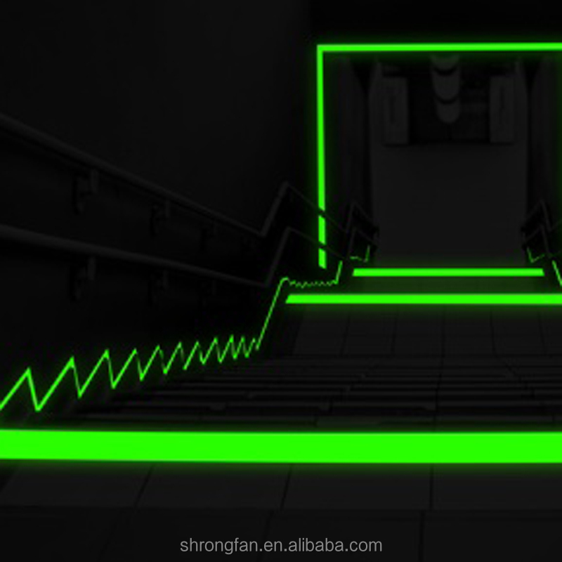 Glow In The Dark Floor Tape For Movie Theater