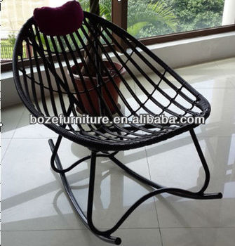 Terrasse Rattan Schaukelstuhl Stahl Acapulco Made In China - Buy ...
