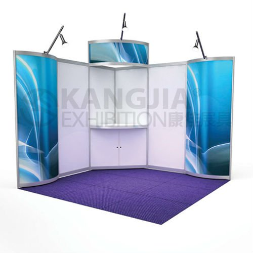Aluminium design display stand/booth diaplay for trade show and expo