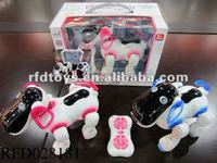 New arrival ! 2 channel rc smart dog /rc robot dog with light and music