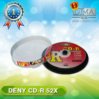 DENY cd lightscribe/blank cds wholesale