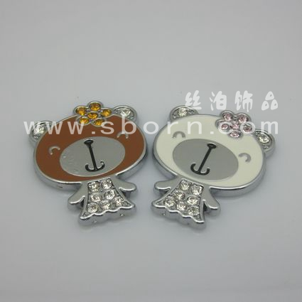 Mobile phone decoration crystal sticker