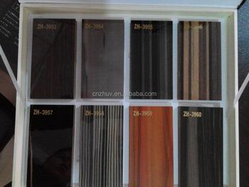 Uv Polymer Kitchen Board Cabinets Door Panel