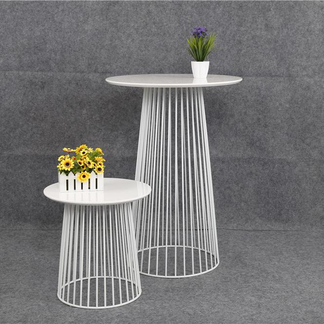 cheap modern design white bar table