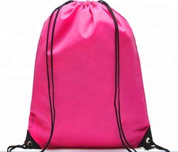 Top Quality Promotional Printing Waterproof Nylon Drawstring Bag