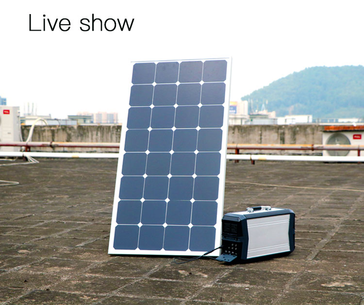 2018 Portable Home Appliance Solar Power System 500W AC/DC Output