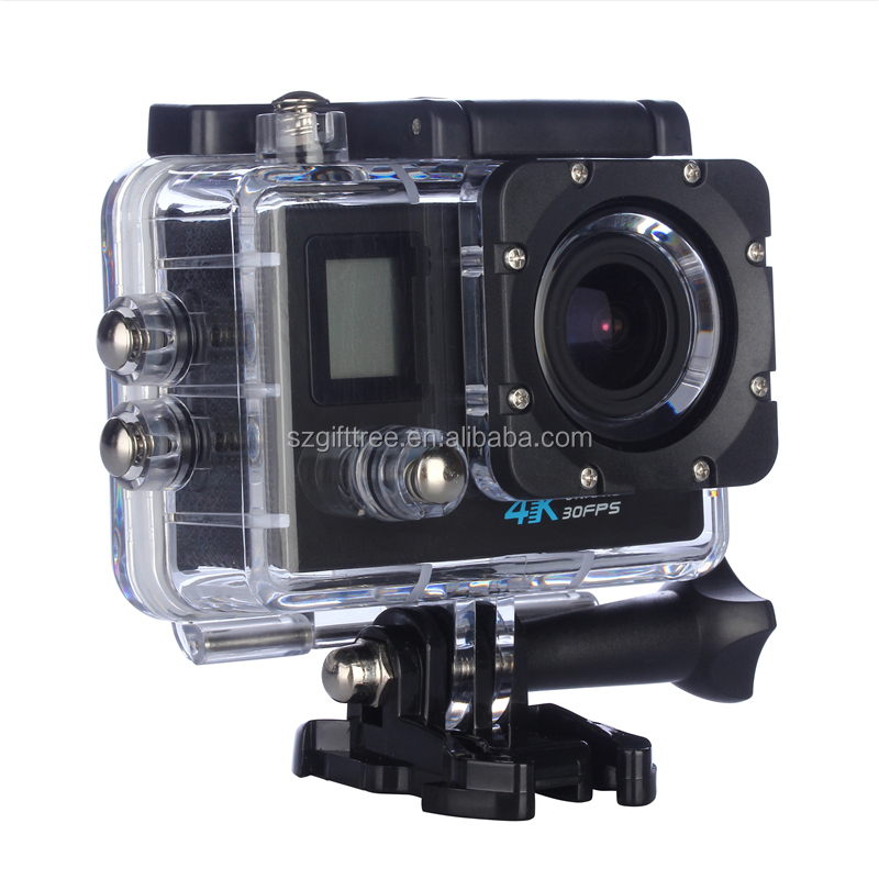 Cheap dual Screen 4K WIFI Action Cameras Full HD 1080P digital cameras sport video cameras accessories