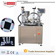 Semi Automatic Plastic Tube Filling And Sealing Machine For Cosmetic Tube,With Date And Batch Embossing Function
