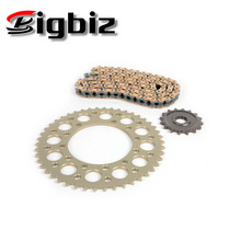 Motorcycle chain sprocket kits TODAY/TITAN 43T-14T motorcycle crown rear sprocket