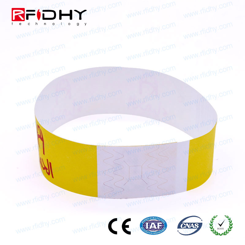 21 years xperience watch tag wristband rfid wristband ticket for Locker