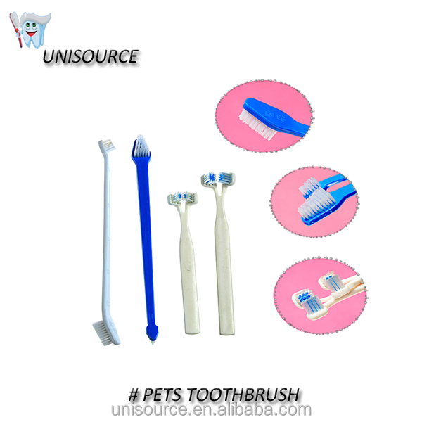 OEM wholesale dog cat dental pet grooming tooth brush toothbrush