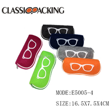 cheap felt eyeglass cases carry glasses case , eyewear frame case