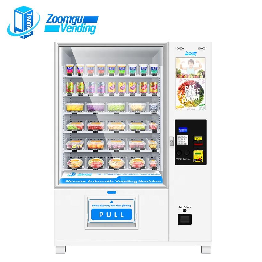 Oem/odm Belt Conveyor Drink Beer Wine With Lift System Buffet Vending Machine