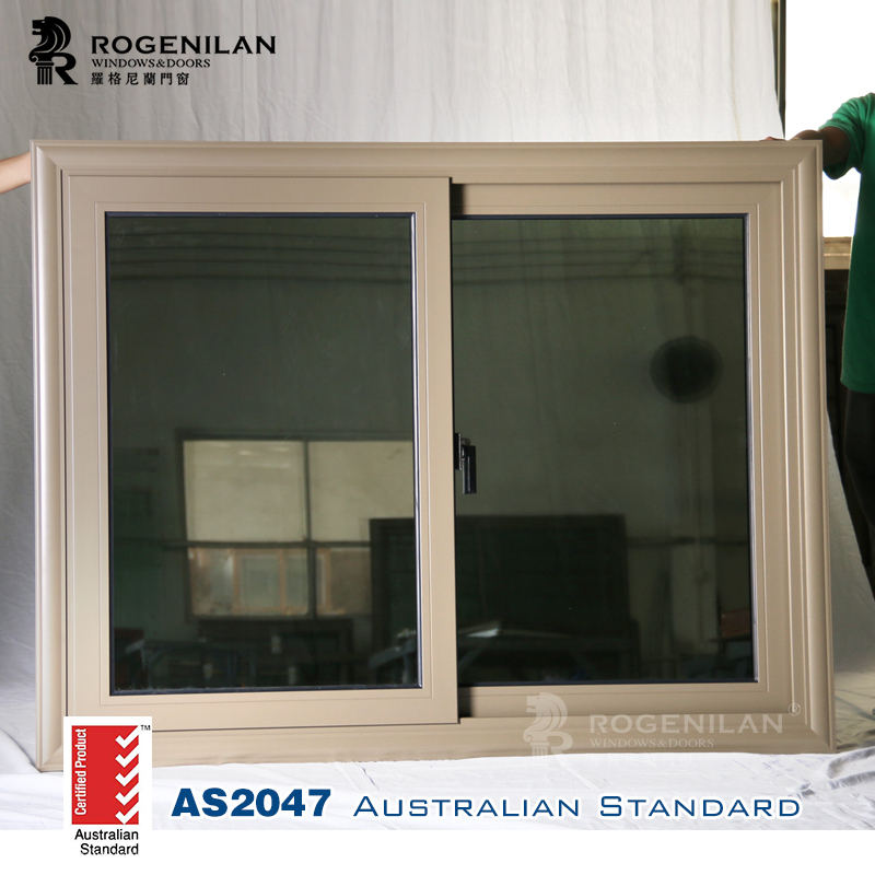 Rogenilan 100 Series Double Tinted Glass Sliding Window Price In