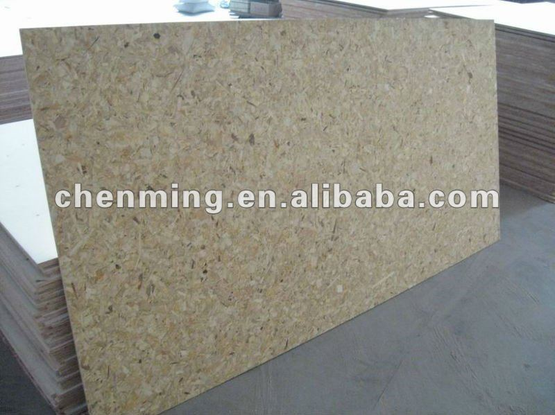 OSB wood panel for roofing