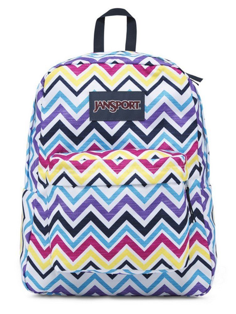 sports shoes c7eee 049e3 Get Quotations · JanSport Girls  Superbreak Backpack Multi-Black