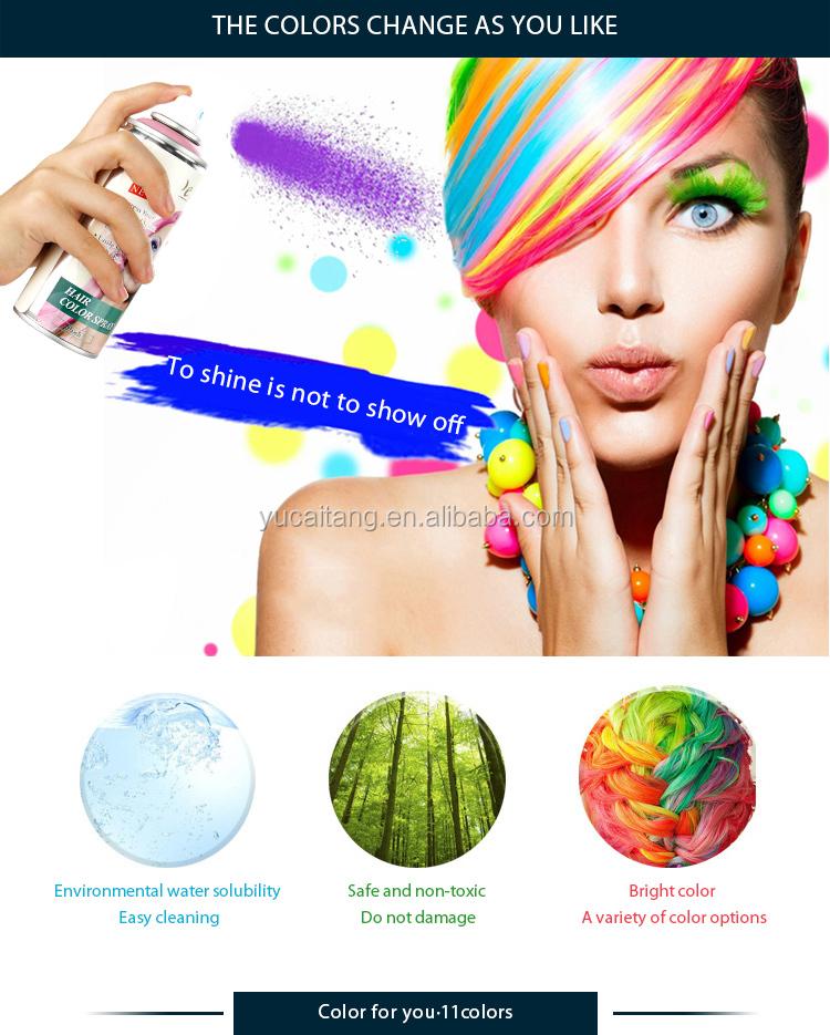 tijdelijke partij onmiddellijke haarlak kleur wasbaar