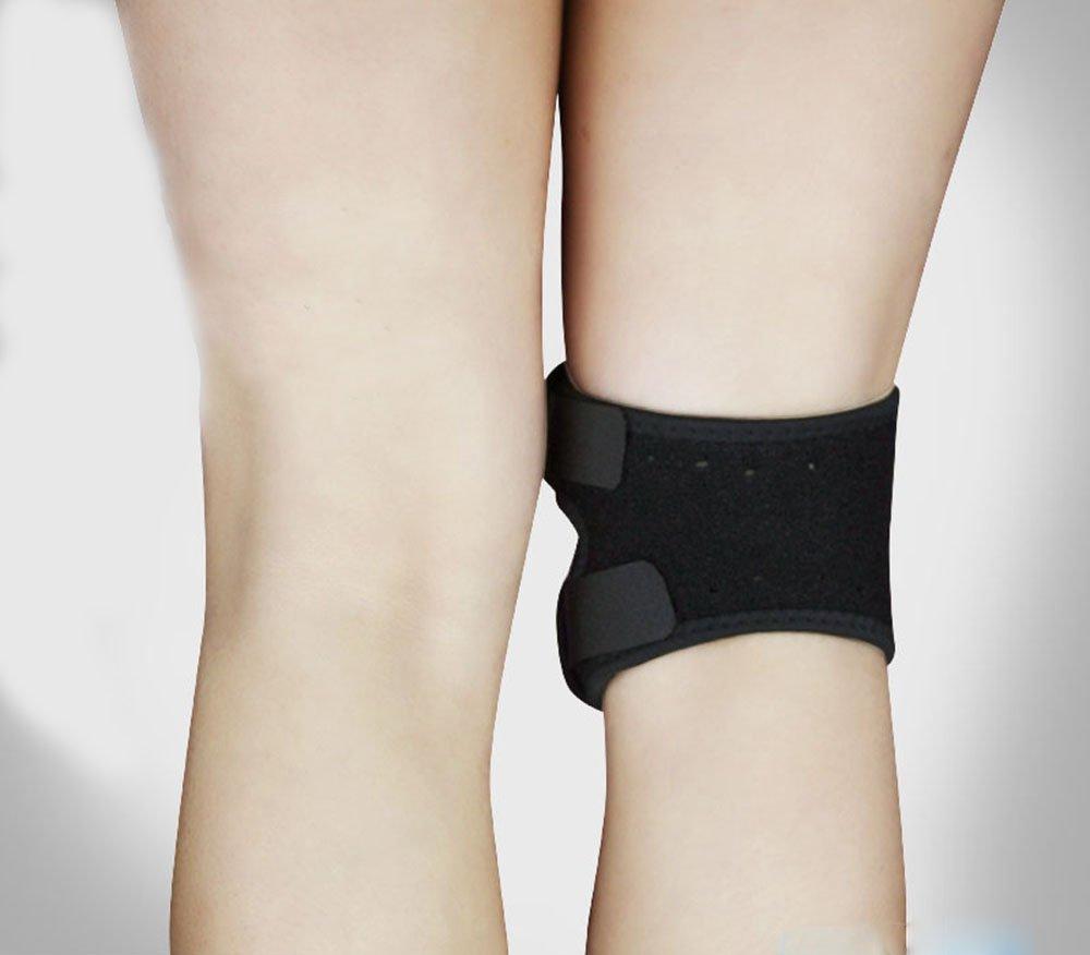 bcd818fc36 Get Quotations · Sporealth Heated Spandex Warm Gaiter Knee Brace Patellar  Knee Strap. Best Knee Support / Brace