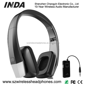 2.4Ghz wireless headphones for gaming for iphone for metal detector