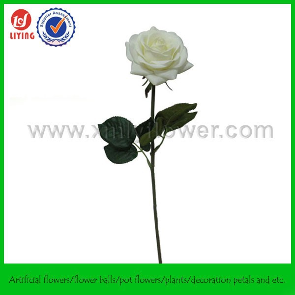 40CM Fresh Touch Rose,High Simulation Single Rose,Real Like Fresh Artificial Rose
