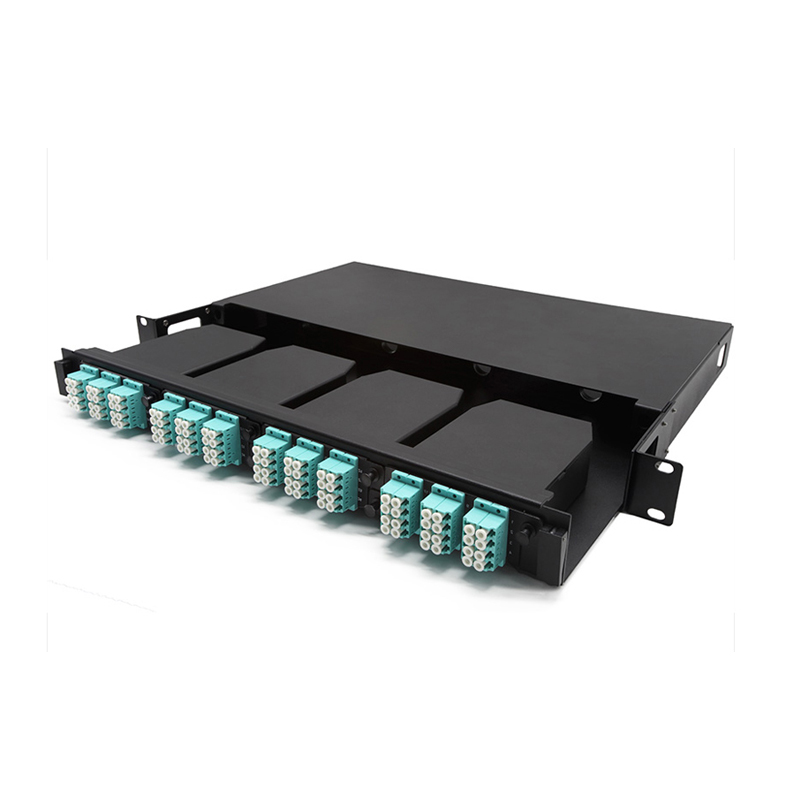 12/24 Fiber Mtp/Mpo Cassettes 8 Port Patch Panel 8 core fiber patch panel 24 core fiber optic patch panel