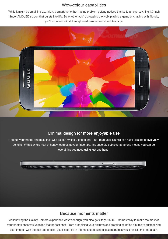 S4 Mini Original Unlocked Samsung Galaxy S4 Mini 16G ROM 4 3''HD Dual-Core  CPU-1 7GHz 8MP Android 4 2 3G WIFI i9195 i9190 i9192 - allodeals