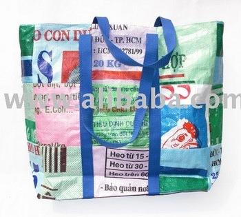 Recyclé En Plastique Riz Sac Fourre tout Sac À Main Buy Plastique Recyclé Sac À Main Product on