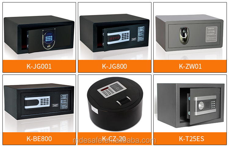Hotel Safe Box With Decoder and Emergency Key Good Price Money Safe Cabinet