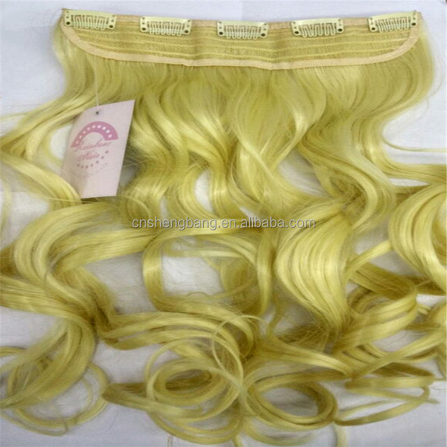 China Blonde Curly Hair Extensions 40 Wholesale Alibaba