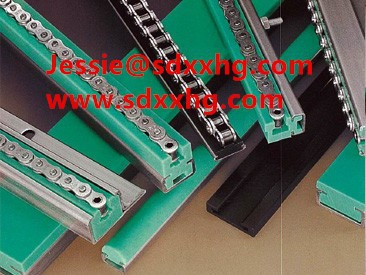 uhmw pe linear guide/Green HDPE 500 Plastic Guide Rail /good price guide rail