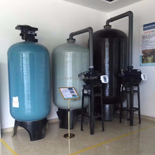 Industrial sand filter/carbon filter+/resin FRP water filter tank