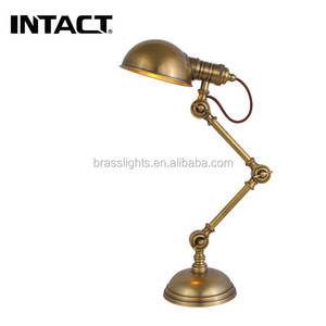 Indian table lamp hotel wood lighting lamps
