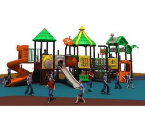 New Arrival Custom Design Outdoor Wooden Playground Amusement Park