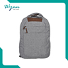 Reusable solar laptop backpack bag with good quality