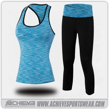 Yoga clothing manufacturers, women gym wear custom yoga clothing