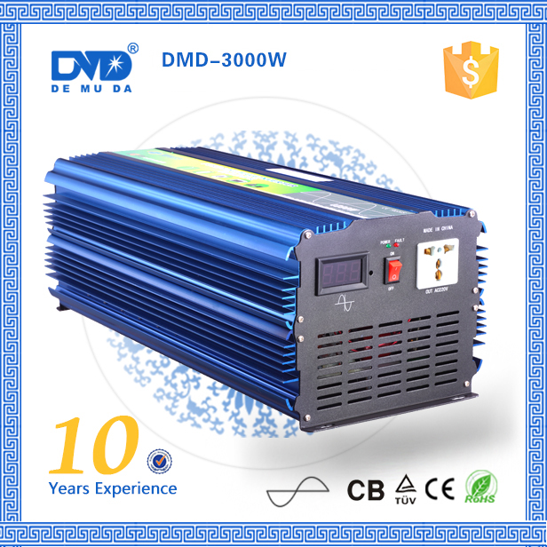 Pure Sine Wave DC 12V/24V to AC 220V/230V 3000W power inverter 6000W Peak Power