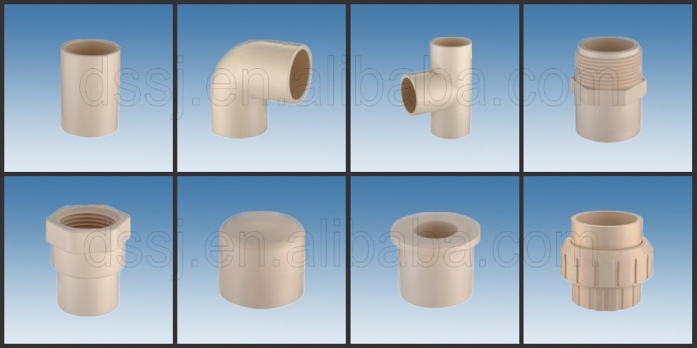 Types of plumbing materials plastic pvc pipe fittings for Types of plastic water pipe