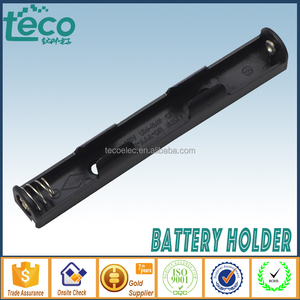 TBH-3A-2L-W Ningbo TECO 3V AAA Battery Holder with 150mm Lead Wire