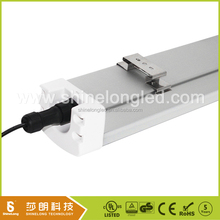 100-277v dimmable IP65 light 40w linear vapor tight LED fixture with motion sensor