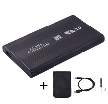USB 3,0 HDD disco duro externo del recinto de 2,5 pulgadas SSD SATA disco móvil caja casos portátil hdd Disco Duro caddy para Windows/Mac os